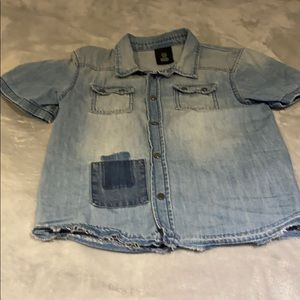 H&M boys Jean shirt!!!